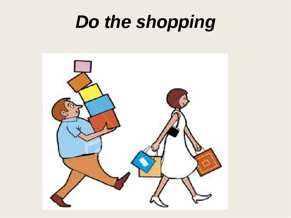 Do the shopping