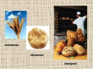 пшеница лепешка пекарни