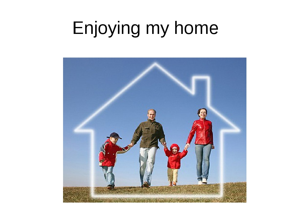 Enjoying my home