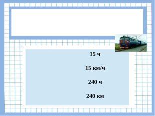 Вопрос № 9 Скорость поезда 60 км/ч. Какое расстояние поезд проедет за 4 часа