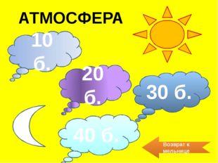 40 б. Что такое парниковый эффект? Уменьшение потерь тепла из атмосферы Земли