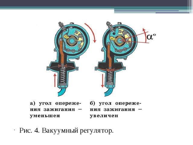 Рис. 4. Вакуумный регулятор.