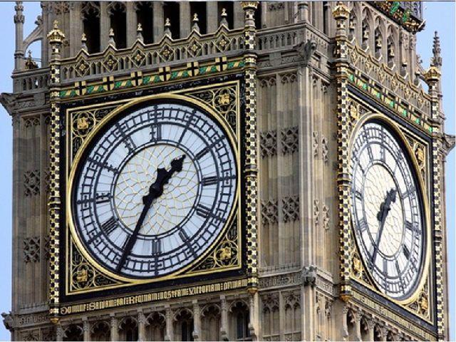 Башня с часами Биг - Бен