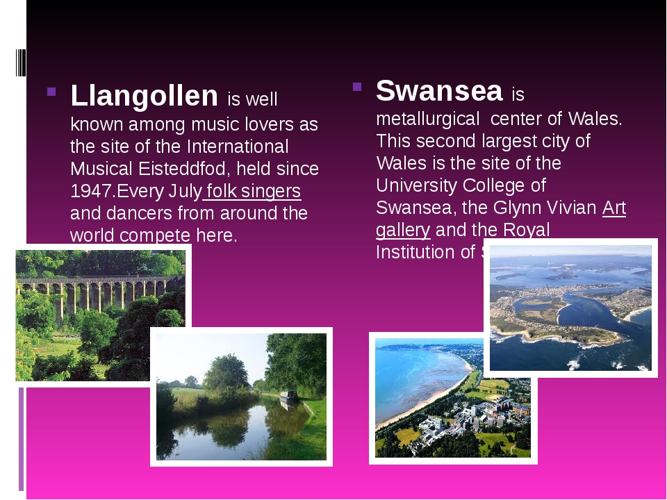 Llangollen is well known among music lovers as the site of the International...
