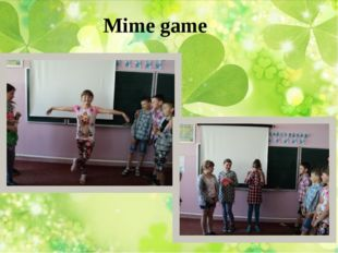 Mime game