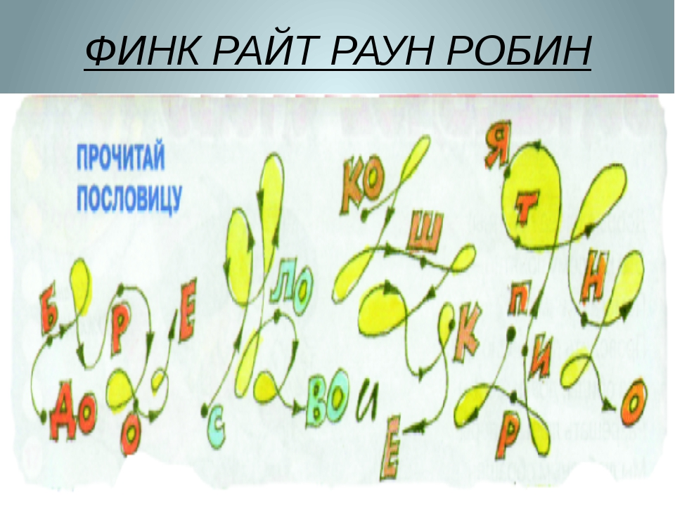 ФИНК РАЙТ РАУН РОБИН