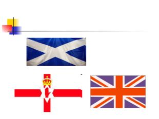 1. The flag of the United Kingdom of Great Britain and Northern Ireland