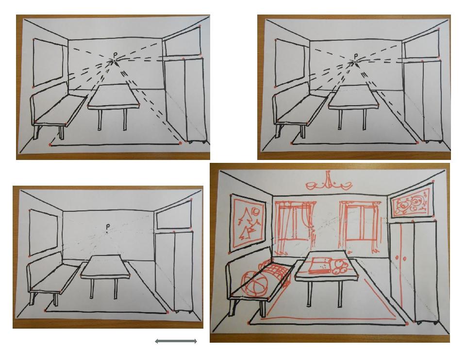 фронтальная перспектива комнаты в картинках костюме черноморских казаков