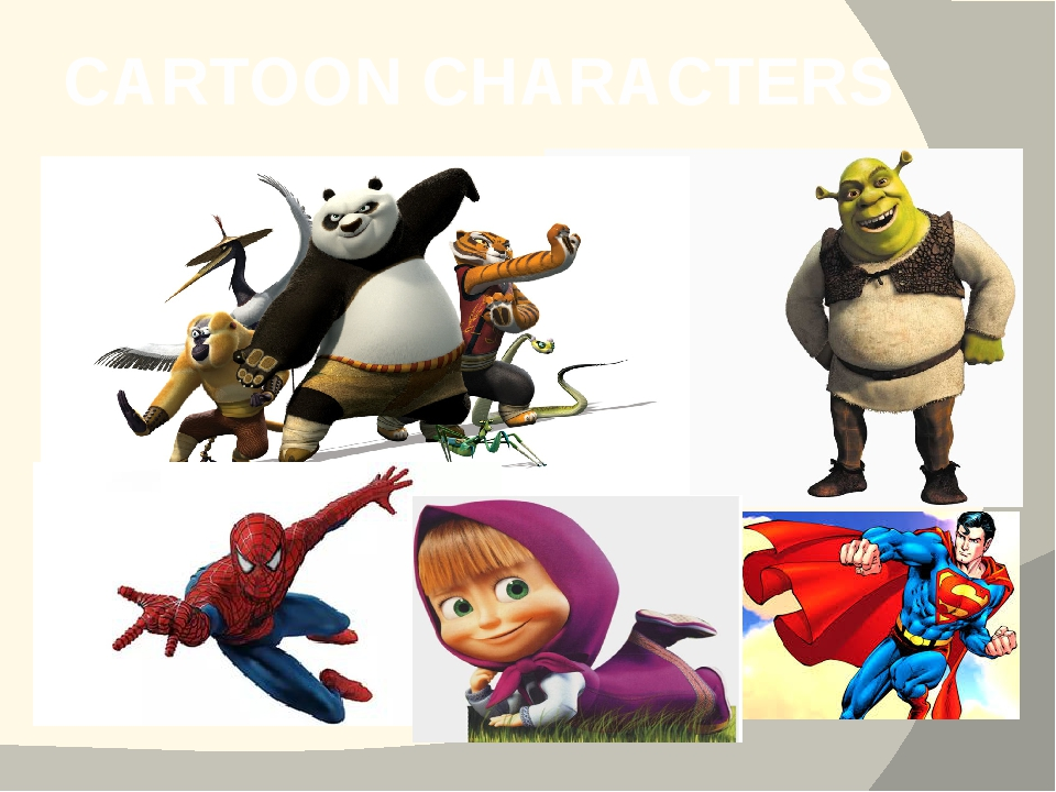 CARTOON CHARACTERS