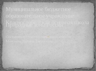 Муниципальное бюджетное образовательное учреждение Краснослободская основная