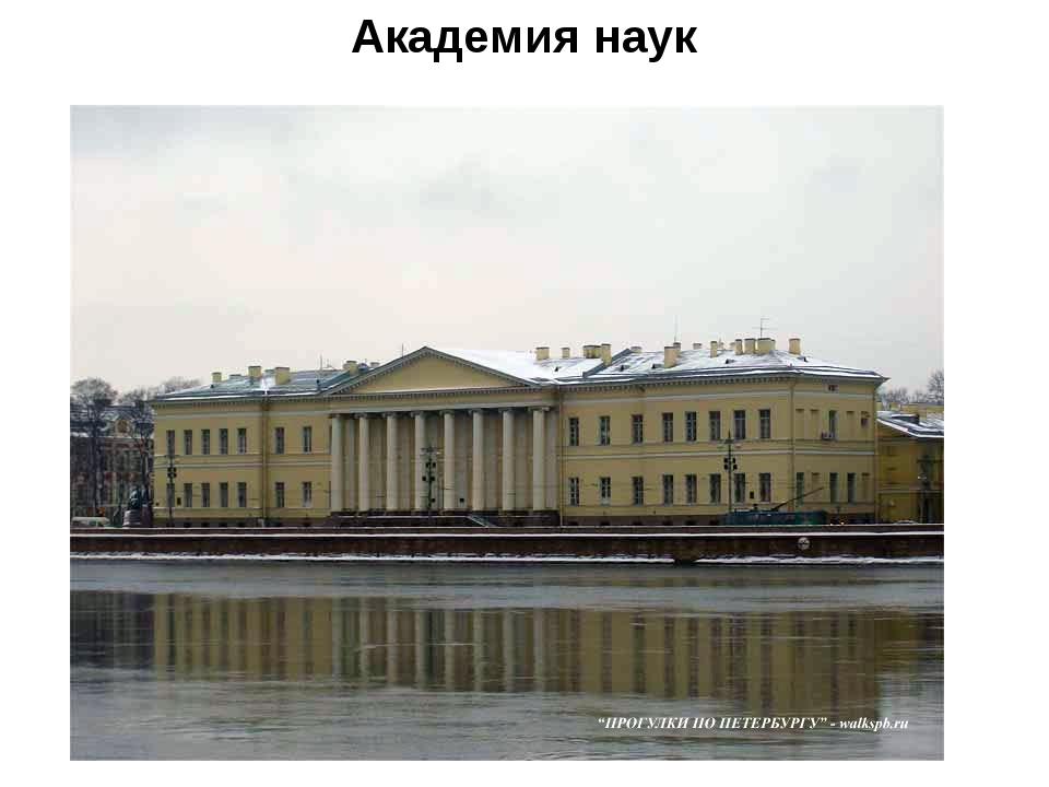Академия наук