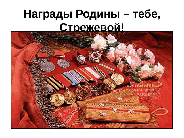 Награды Родины – тебе, Стрежевой!