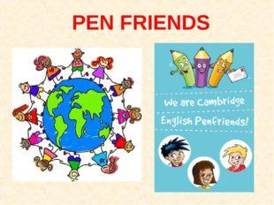 PEN FRIENDS