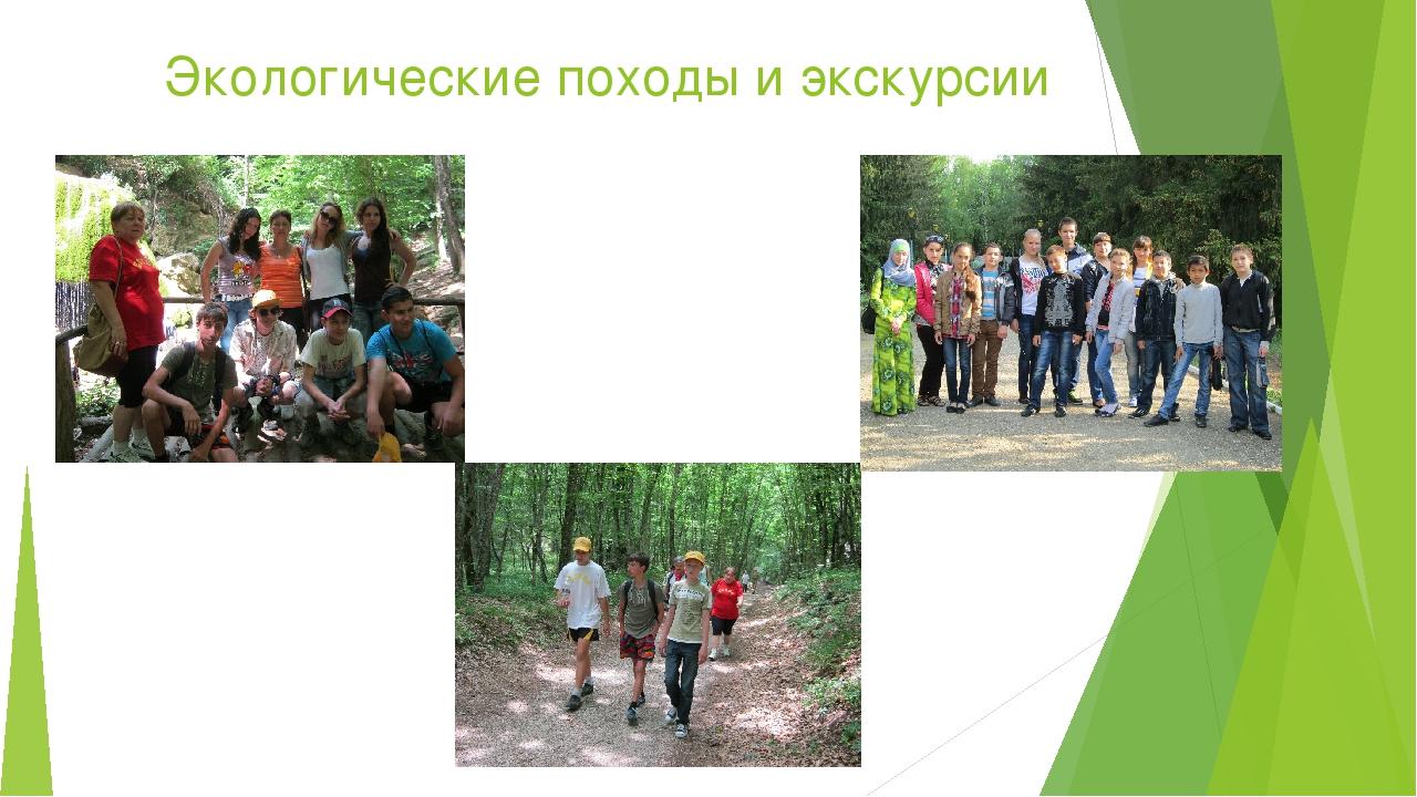 Экологические походы и экскурсии