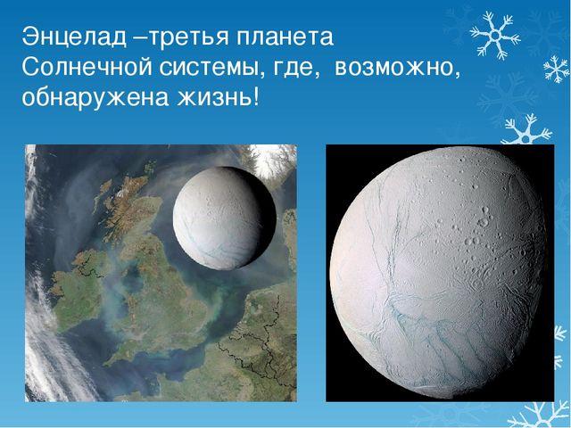 Энцелад –третья планета Солнечной системы, где, возможно, обнаружена жизнь!