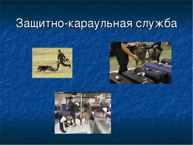 Защитно-караульная служба