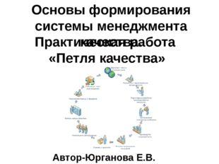 Основы формирования системы менеджмента качества. Практическая работа «Петля