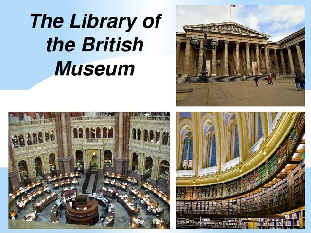 The British National Library The British Library is the national library of t...