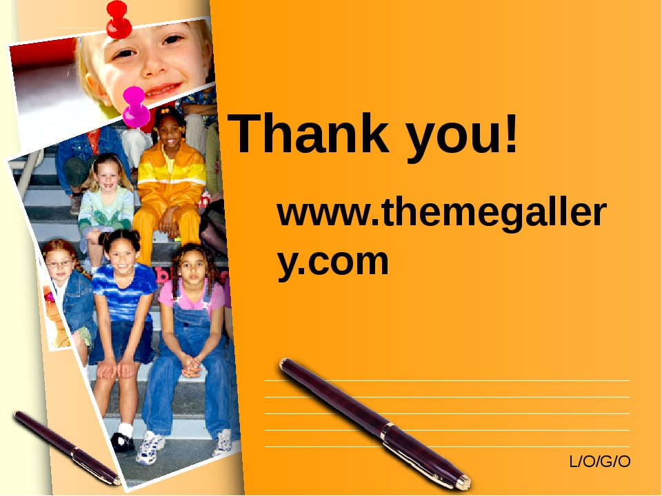 Thank you! www.themegallery.com L/O/G/O www.themegallery.com