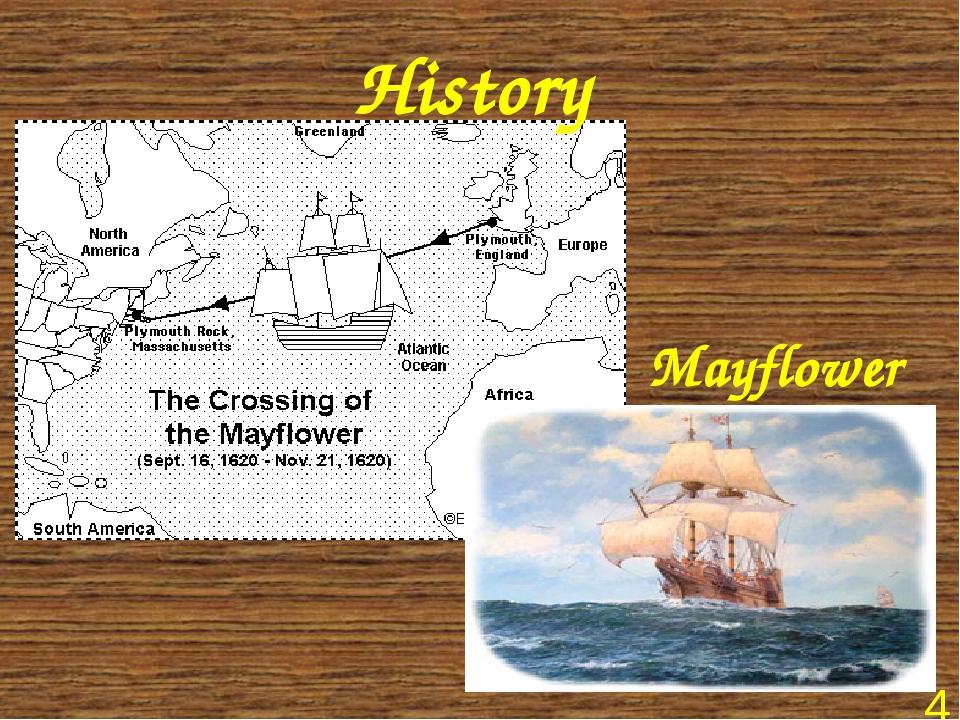 History Mayflower *