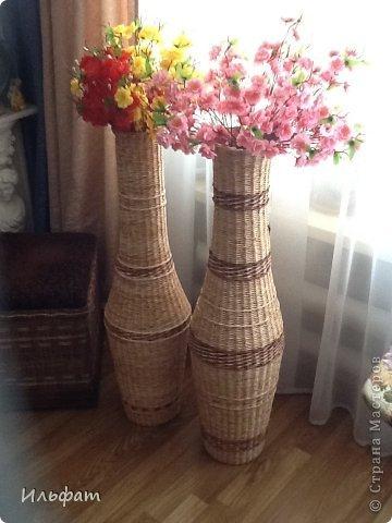 Плетение из газетных трубочек напольных ваз мастер класс - Automee-s.ru