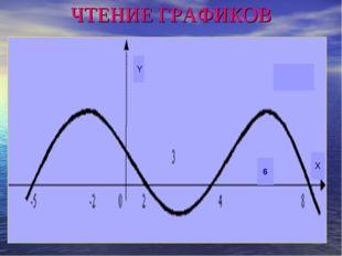 ЧТЕНИЕ ГРАФИКОВ Y X 6