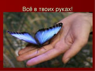 Всё в твоих руках!