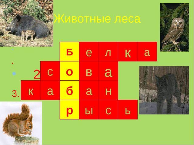 Животные леса 1. 2 3. 4. 3 4. Б е л к а о в а с б а р а н ы с к ь