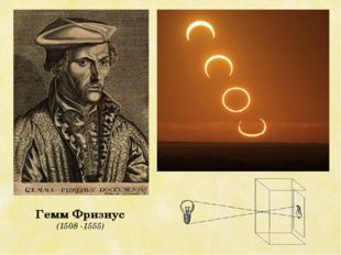 Гемм Фризиус (1508 -1555)