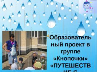 Образовательный проект в группе «Кнопочки» «ПУТЕШЕСТВИЕ С КАПИТОШКОЙ»