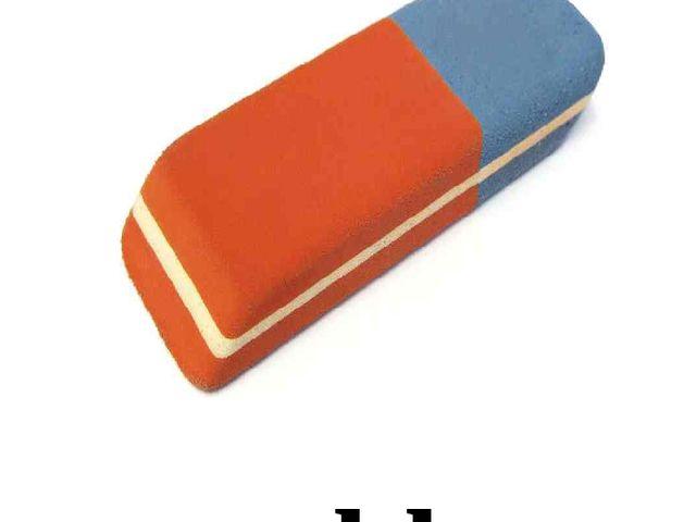 a rubber