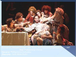"Вольфганг Амадей Моцарт ""Дон Жуан, или Наказанный развратник"" – 1997 Хор: Phi"