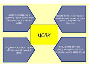 привлечение общественного внимания к состоянию русского языка в современном о