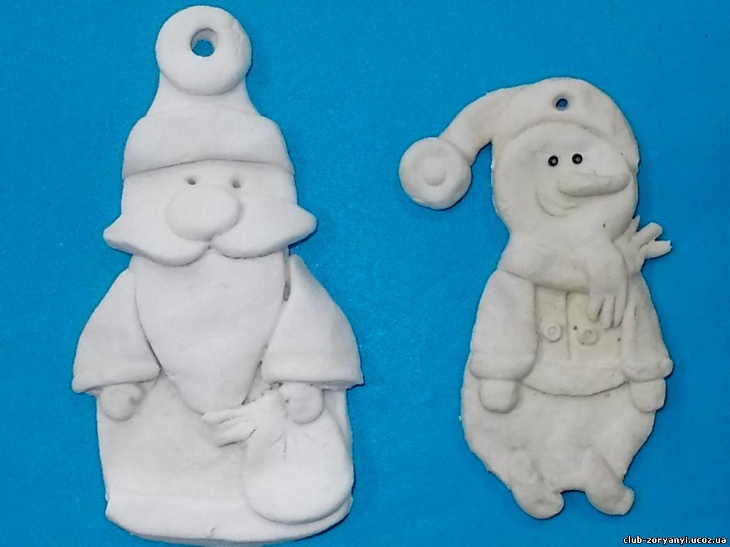 Дед мороз своими руками из соленого теста