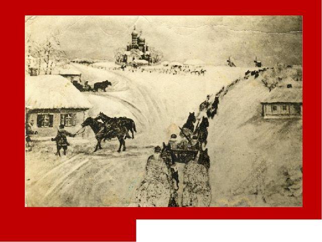 «Набег». Картина верхопенского художника Михаила Сергеевича Крамского