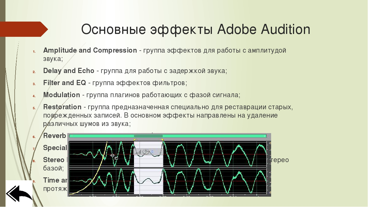 Пример записи звука Adobe Audition