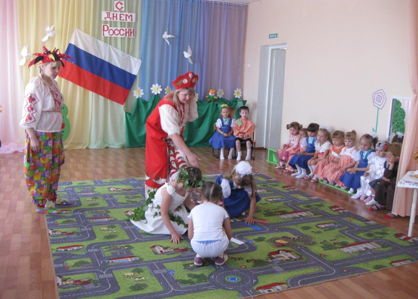 Сценарий праздника в дошкольном возрасте