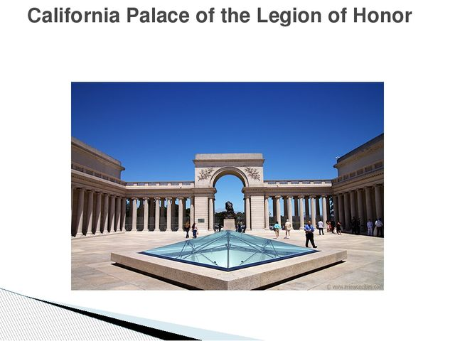 California Palace of the Legion of Honor