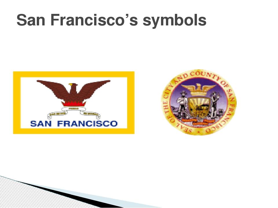 San Francisco's symbols