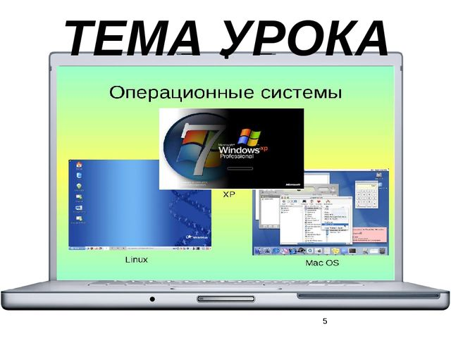 ОС – Это главная программа, которая управляет работой компьютера