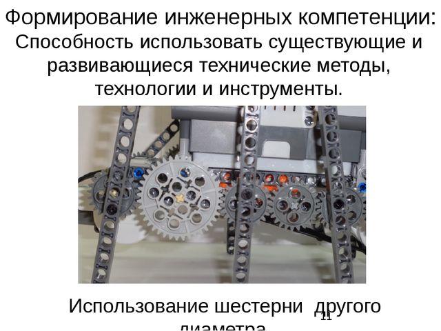 Способность использовать существующие и развивающиеся технические методы, тех...
