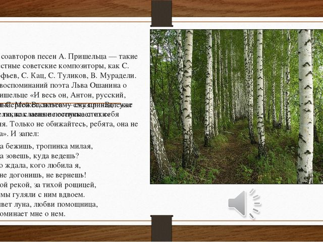 Среди соавторов песен А. Пришельца — такие известные советские композиторы, к...