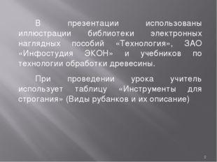 * В презентации использованы иллюстрации библиотеки электронных наглядных пос