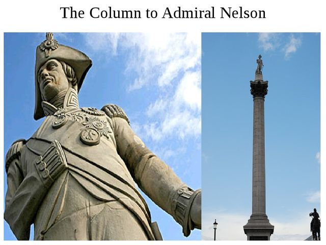 The Column to Admiral Nelson