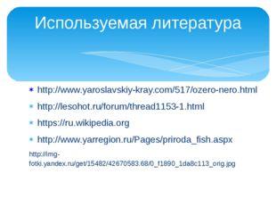 http://www.yaroslavskiy-kray.com/517/ozero-nero.html http://lesohot.ru/forum/