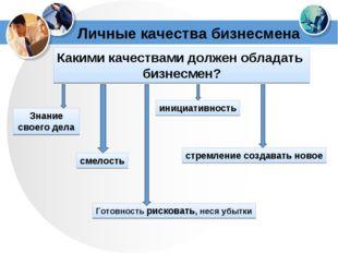 Личные качества бизнесмена Какими качествами должен обладать бизнесмен? Знани
