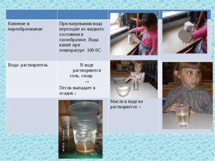 Кипение и парообразование При нагревании вода переходит из жидкого состояния