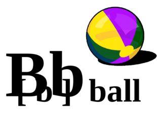 Bb [ b ] ball