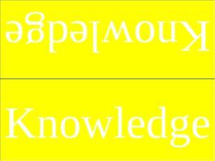 Knowledge Knowledge