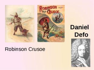 Robinson Crusoe Daniel Defo